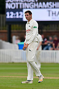 Matthew Carter of Nottinghamshire during the Specsavers County Champ Div 1 match between Somerset County Cricket Club and Nottinghamshire County Cricket Club at the Cooper Associates County Ground, Taunton, United Kingdom on 10 June 2018. Picture by Graham Hunt.