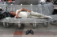 Chinese sleeping
