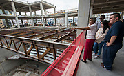 Topping out ceremony for the new Kinder High School for the Performing and Visual Arts, May 17, 2017.