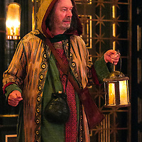 The Inn at Lydda by WOLFSON ;<br /> Directed by Andy Jordan ;<br /> Kevin Moore (as Melchior) ;<br /> Sam Wanamaker Playhouse, Globe Theatre ;<br /> 6 September 2016 ;<br /> Credit: Pete Jones/ArenaPal ;<br /> www.arenapal.com