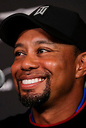 Golf: 20170123 Tiger Wood in Press Conference for Genesis Open