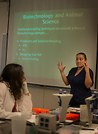 Science Technology Engineering and Math camp for hispanic high school students. STEM camp for Genetics and Video production. Animal Science faculty and 4H and Ag Communications staff conducted the instructions in basic DNA, Genetics and Video Productions.