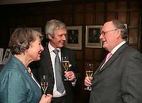 Nancy Jarratt, Edward Hoare and Simon Leschallas