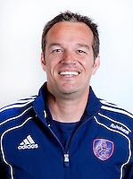 AMSTELVEEN - PATRICK VAN BALKOM, trainer bij dames van Oranje. KNHB COPYRIGHT KOEN SUYK