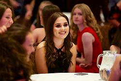 NEWPORT, WALES - Saturday, May 19, 2018: Lucia Molinari during the Football Association of Wales Under-16's Caps Presentation at the Celtic Manor Resort. (Pic by David Rawcliffe/Propaganda)