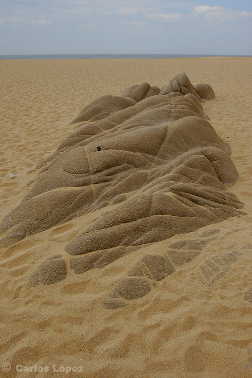 A nice natural rock formation in one beach of Cabo San Lucas, a very touristic place in the state of Baja California in Mexico.