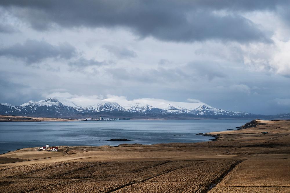 REYKJAVIK 20160402<br /> Landscape outside of Reykjavik.<br /> Photo: Vilhelm Stokstad / Kontinent