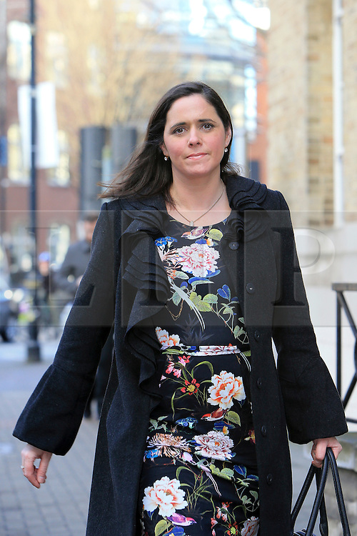 © Licensed to London News Pictures. 08/02/2016. Belfast, Northern Ireland, UK. DENISE BREWSTER pictured in Belfast, Northern Ireland on the day she won a landmark Supreme Court ruling, allowing her to receive payments from her late, long-term partner's occupational pension.   The ruling is likely to improve the pension rights of unmarried couples in the public sector. Photo credit : Paul McErlane/LNP