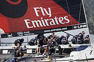 ITALY, Sardinia, Cagliari, AUDI MedCup, 24th July 2009,  Autonomous Region of Sardinia Trophy,TP52, Race 8, Emirates Team New Zealand.