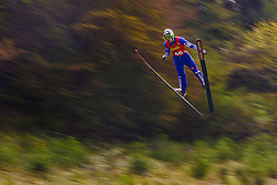 Pograjc Andraz during national competition in Ski Jumping, 8th of October, 2016, Kranj,  Slovenia. Photo by Grega Valancic / Sportida