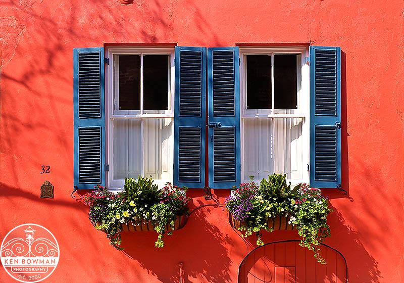 Charleston Tradd Street #32 window box.