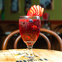Very Berry Sangria<br /> Fresh made sangria garnished with fresh fruit.<br /> Jimmy J's Cafe, 115 Chartres St. New Orleans, LA 70130