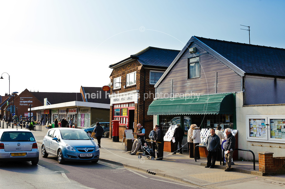 Shops on Newbegin, Hornsea, East Yorkshire