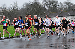 On their way at the start of the Westport 5km Road Race part of the C&C Cellular Mayo AC League...Pic Conor McKeown