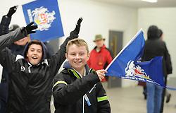 Bristol Rugby fan - Mandatory byline: Dougie Allward/JMP - 27/11/2015 - RUGBY - Ashton Gate - Bristol, England - Bristol Rugby v London Scottish - Greene King IPA Championship