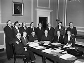 1959 - New Cabinet at Government Buildings