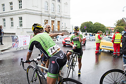 Rossella Ratto (ITA) of Cylance Pro Cycling finishes the 97,1 km second stage of the 2016 Ladies' Tour of Norway women's road cycling race on August 13, 2016 between Mysen and Sarpsborg, Norway. (Photo by Balint Hamvas/Velofocus)