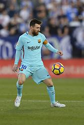 November 18, 2017 - Leganes, Madrid, Spain - Leo Messi during the match between CD Leganes vs. FC Barcelona, week 12 of La Liga at Butarque stadium, Leganes, Madrid, Spain on 18th November of 2017. (Credit Image: © Jose Breton/NurPhoto via ZUMA Press)
