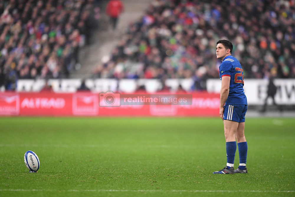 February 3, 2018 - Saint Denis, France - penalty manque Anthony Belleau  (Credit Image: © Panoramic via ZUMA Press)