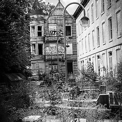 Cincinnati Glencoe-Auburn Hotel. The Glencoe-Auburn Hotel and Glencoe-Auburn Place Row Houses were built in the late 1800's and are listed on the U.S. National Register of Historic Places. The complex is currently abandoned and in extremely poor condition.