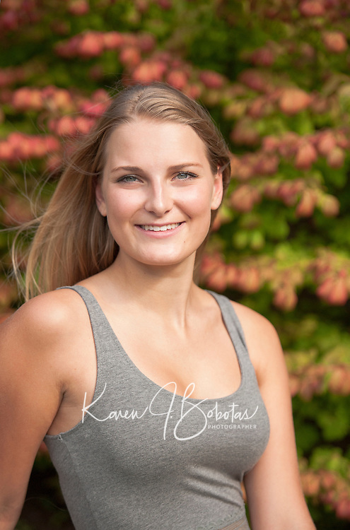 Caitlyn Houston senior portrait session.  ©2014 Karen Bobotas Photographer