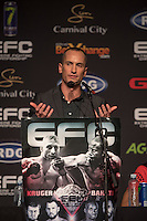 JOHANNESBURG, SOUTH AFRICA - MAY 13: Cario Howarth during EFC 49 Fight Night at the Big Top Arena, Carnival City, Johannesburg, South Africa on May 13, 2016. (Photo by Anton Geyser/ EFC Worldwide)