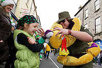 Amnesty International participants in Galway St Patrick's day parade. Photo:Andrew Downes Photography.