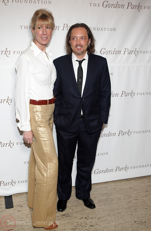 l to r: Diana Revson and Jed Root at ' The Celebrating Fashion ' A Gala Benefit to support the Gordon Parks Foundation held at Gotham Hall on June 2, 2009 in New York City. ..The Gordon Parks Foundation-- created to preserve the work of groundbreaking African American Photographer and honor others who have dedicated their lives to the Arts--presents the Gordon Parks Award to four Artists who embody the principals Parks championed in his life.