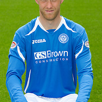 St Johnstone FC...Season 2011-12<br /> Steven Anderson<br /> Picture by Graeme Hart.<br /> Copyright Perthshire Picture Agency<br /> Tel: 01738 623350  Mobile: 07990 594431