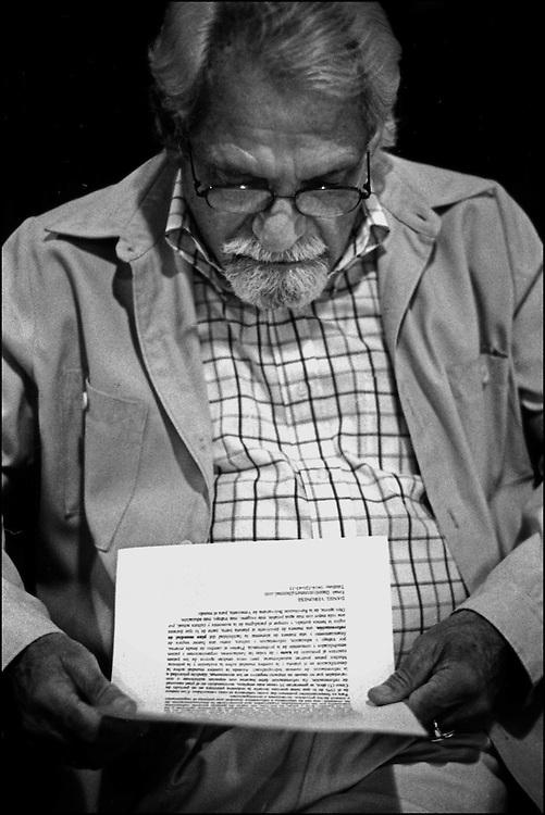 PORTRAITS / RETRATOS<br /> <br /> Pablo Armando Fernandez<br /> Poeta Cubano<br /> Caracas - Venezuela 2005<br /> <br /> (Copyright &copy; Aaron Sosa)