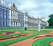 The Catherine Palace and garden<br /> Pushkin, Russia