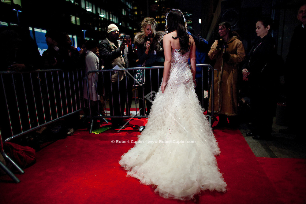 Angel Locsin (Philippines) walks the red carpet upon arriving at the 37th International Emmy Awards Gala in New York on Monday, November 23, 2009.  ***EXCLUSIVE***