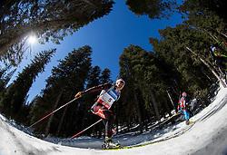 EDER Simon of Austria competes during Men 12.5 km Mass Start competition of the e.on IBU Biathlon World Cup on Sunday, March 9, 2014 in Pokljuka, Slovenia. Photo by Vid Ponikvar / Sportida