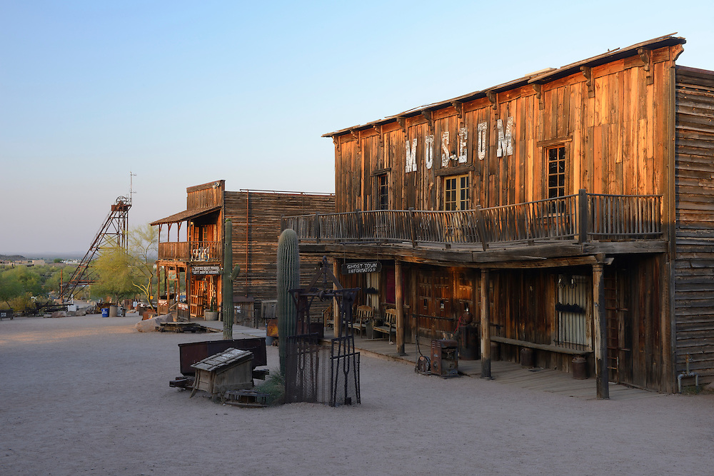 Goldfiel Ghost Town, Phoenix,Arizona, USA