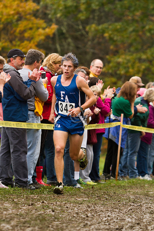2012 High School Western Maine Regional Cross Country Championships, Class B Boys race Silas Eastman,