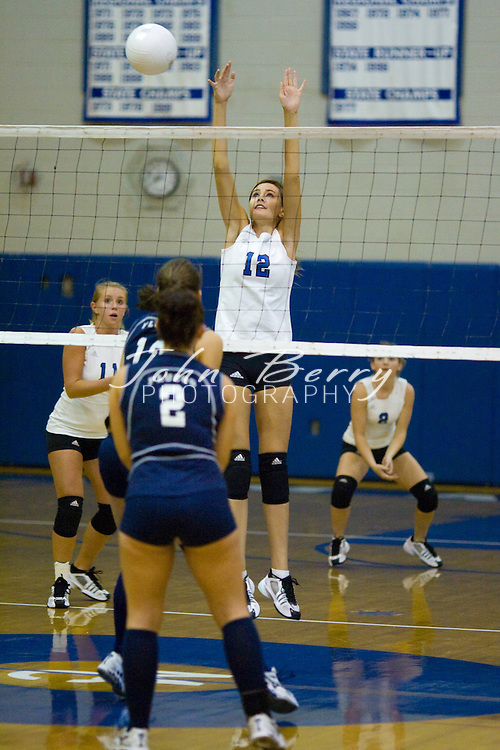 MCHS Varsity Volleyball.vs Fluvanna.9/11/2007