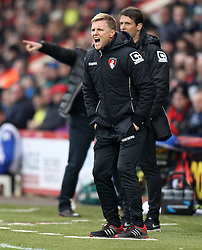 Bournemouth Manager, Eddie Howe - Photo mandatory by-line: Robbie Stephenson/JMP - Mobile: 07966 386802 - 14/03/2015 - SPORT - Football - Bournemouth - Dean Court - AFC Bournemouth v Blackpool - Sky Bet Championship