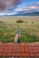 Vietnam Veterans Memorial Overlooking Moreno Valley, Angel Fire, New Mexico
