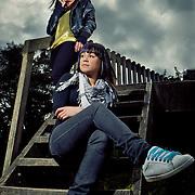 Zetta and Aranga Harcourt Park Photoshoot 9 Monday 15 October 2012