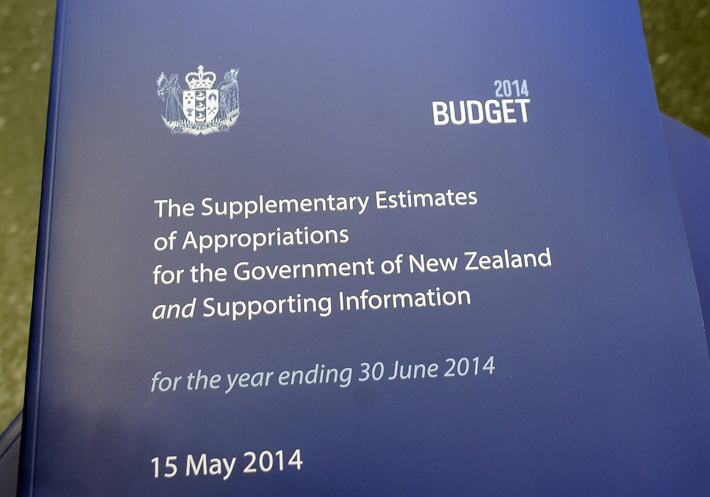 The 2014 Budget, at the printers, Petone, New Zealand, Wednesday, May 14, 2014. Credit:SNPA / Ross Setford