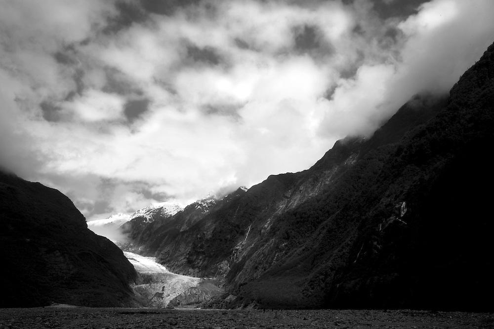 Franz Josef Glacier in Westland National Park, New Zealand