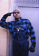 Gang member of the Booya tribe, LA USA, 1990's
