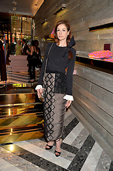 STEPHANIE LA CAVA at the opening of Roksanda - the new Mayfair Store for designer Roksanda Ilincic at 9 Mount Street, London on 10th June 2014.