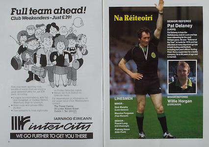 All Ireland Senior Hurling Championship Final,.03.09.1989, 09.03.1989, 3rd September 1989, .Antrim v Tipperary, .03091989AISHCF,.Tipperary 4-24, Antrim 3-9,.intercity, iarnrod ereann,..Senior referee Pat Delaney, Laois,..MInor Referee, Willie Horgan, Cork,