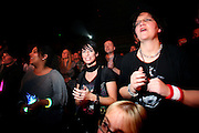 Frankfurt am Main   27.11.2010..German pop and rock singer Nena live at the Alte Oper in the german city of Frankfurt, the picture is showing Nena fans in the audience...©peter-juelich.com..[No Model Release   No Property Release]