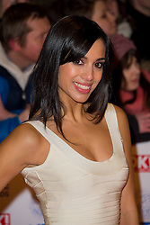 Fiona Wade arrives at the National Television Awards at the 02 Arena, London Wednesday January 23, 2013. Photo by Chris Joseph / i-Images
