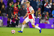 Ajax defender Rasmus Kristensen (2) in action during a Florida Cup match at Orlando City Stadium on Jan. 10, 2019 in Orlando, Florida. <br /> Flamengo won in penalties 4-3.<br /> <br /> ©2019 Scott A. Miller