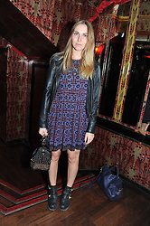 BECKY TONG at the JW Anderson Top Shop Party held at Madame Jojo's, 8-10 Brewer Street, London W1 on 17th September 2012.