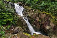 Mcdonald Falls along Murdo Creek in Davis Lake Provincial Park, British Columbia, Canada
