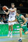 DESCRIZIONE : Kaunas Lithuania Lituania Eurobasket Men 2011 Quarter Final Round Spagna Slovenia Spain Slovenia<br /> GIOCATORE : Fernando San Emeterio<br /> CATEGORIA : <br /> SQUADRA : Spagna Spain <br /> EVENTO : Eurobasket Men 2011<br /> GARA : Spagna Slovenia Spain Slovenia<br /> DATA : 14/09/2011<br /> SPORT : Pallacanestro <br /> AUTORE : Agenzia Ciamillo-Castoria/M.Metlas<br /> Galleria : Eurobasket Men 2011<br /> Fotonotizia : Kaunas Lithuania Lituania Eurobasket Men 2011 Quarter Final Round Spagna Slovenia Spain Slovenia<br /> Predefinita :